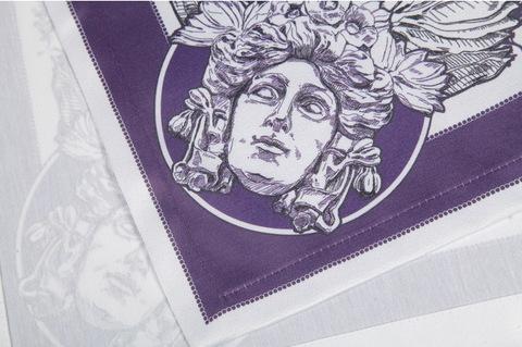 Салфетки 4 шт 40x40 Blonder Home Chronos фиолетовые