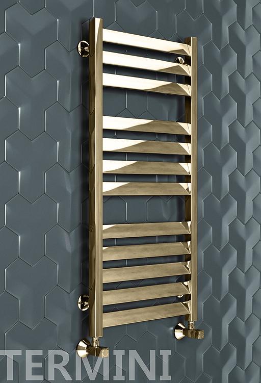 Termini Bronze - бронзовый дизайн полотенцесушитель. Бронза.