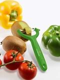 Нож для чистки томатов и киви VICTORINOX зелёный (7.6079.4)