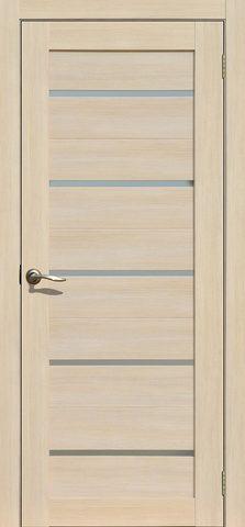 > Экошпон La Stella 206, стекло матовое, цвет ясень латте, остекленная