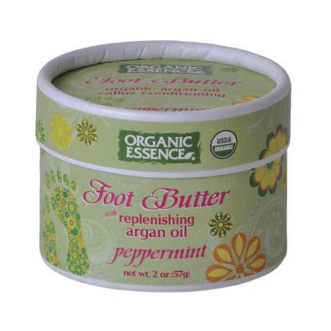 Organic Essence. Органический крем для ног «Мята перечная»  (57 гр)