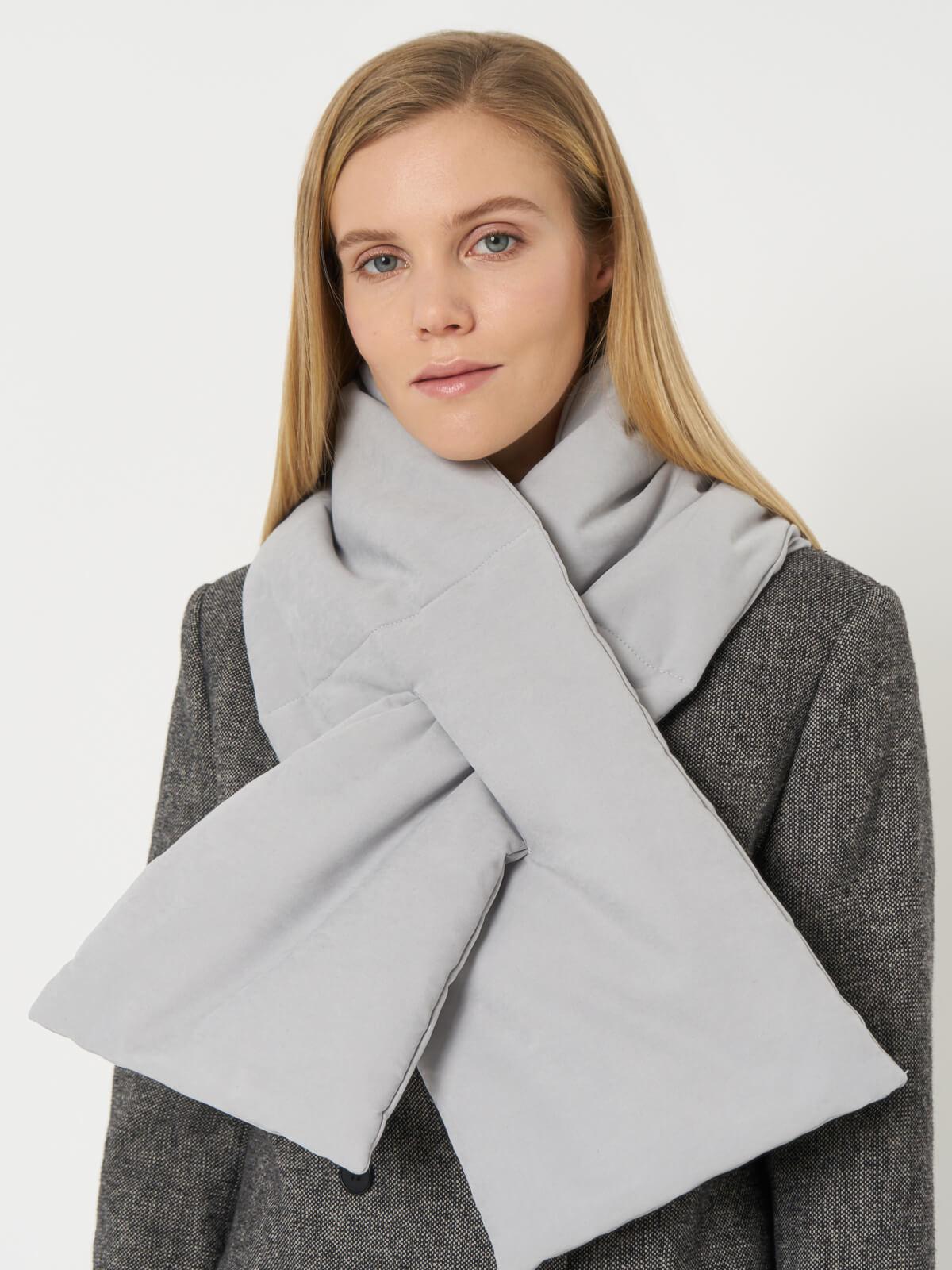 Утепленный шарф