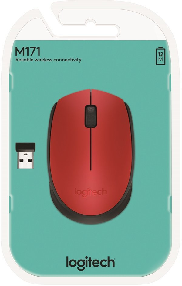 LOGITECH M171 Red/Black