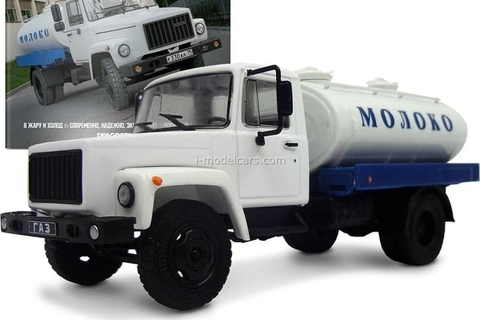 GAZ-3307 G6-OTA-4,2 tank Milk 1:43 DeAgostini Auto Legends USSR Trucks #13