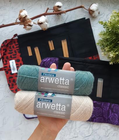 HiyaHiya Bamboo DPN Set Набор носочных спиц Бамбук 15 см (6
