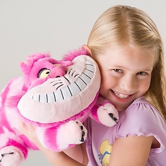 Алиса в Стране чудес мягкая игрушка Чеширский кот