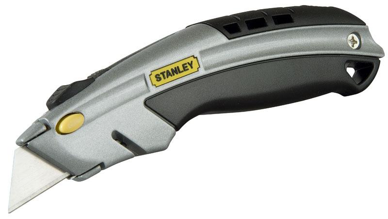 Нож с выдвижным трапециевидным лезвием  с фронтальной загрузкой  Stanley 0-10-788