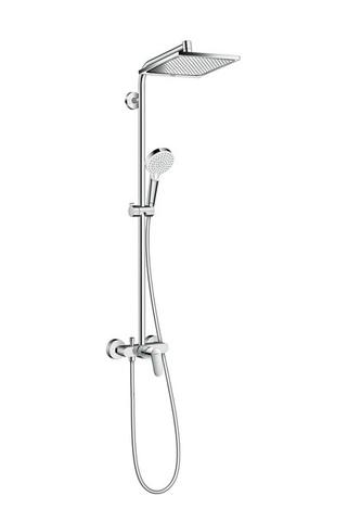 Душевой набор Hansgrohe 27284000 Crometta E 240 1jet Showerpipe