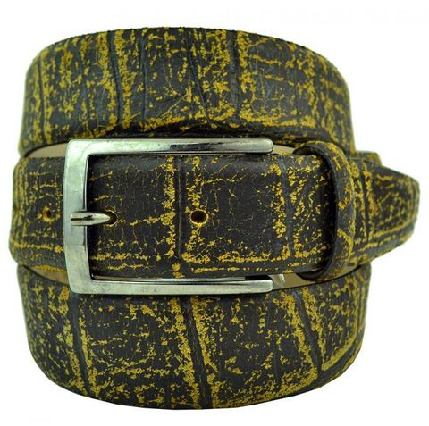 Ремень брючный кожаный 35 мм Roberto Nardi (копия) 35Sale-K-014