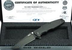 Zero Tolerance 0392BLK Factory Custom