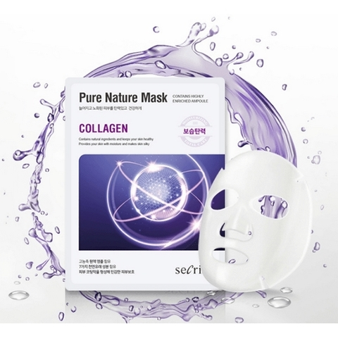 Маска c коллагеном Secriss Pure Nature Mask Pack Collagen от Anskin
