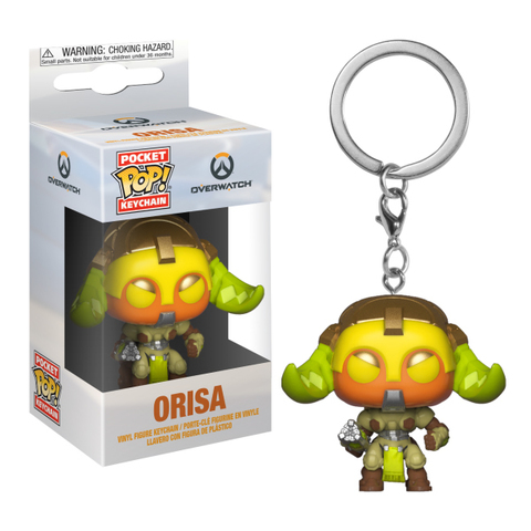Брелок Funko Pocket POP! Keychain: Overwatch: Orisa 37440-PDQ