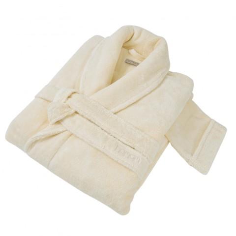 Элитный халат махровый Pera слоновая кость от Hamam