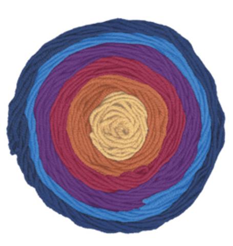 Купить Пряжа Alize Superlana Maxi long batik Код цвета 6774 | Интернет-магазин пряжи «Пряха»