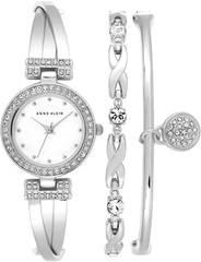 Женские наручные часы Anne Klein 1869SVST в наборе