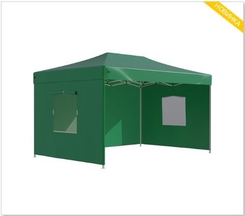 Шатер - палатка S8.2, 3x4.5м зеленый
