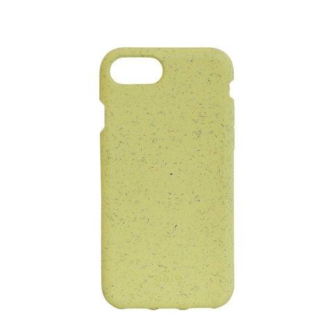 Чехол Pela для телефона iPhone X желтый