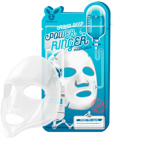 Elizavecca Увлажняющая тканевая маска для лица с гиалуроновой кислотой 23мл