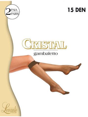 Гольфы Cristal 15 (2 пары) Levante