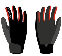 Перчатки Nordski Racing Black-Red WS