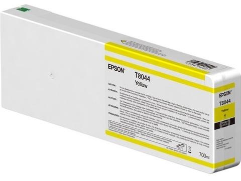 Картридж T804400 для Epson SC-P6000/7000/8000/9000 XXL Yellow UltraChrome HDX/HD, 700ml (C13T804400)
