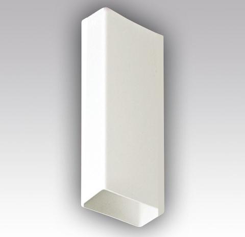 Воздуховод прямоугольный 204х60 1,0 м пластиковый