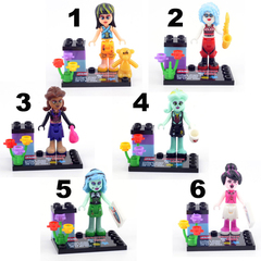 Minifigures Monster High Blocks Building