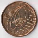 K6069, 2009, Канада, 1 доллар 2009 Монреаль Канадиенс Хоккей UNC