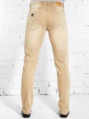 YH321 джинсы мужские. бежевые