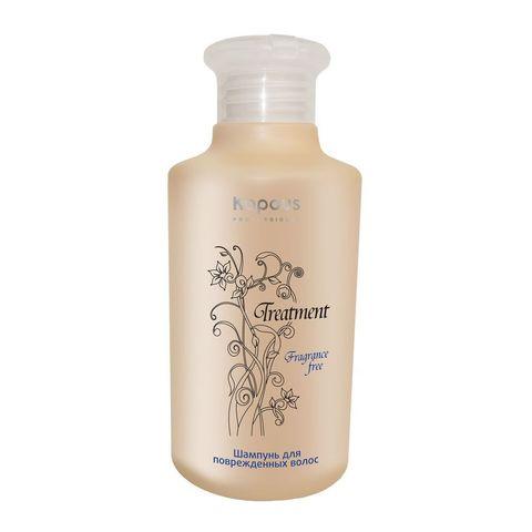 Шампунь для поврежденных волос,Kapous Treatment, 250 мл