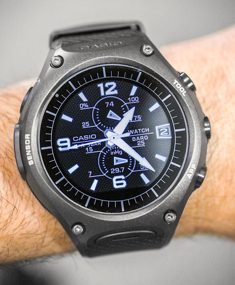 Casio умные открытый часы protrek умный gps wsd-frg из японии новый.