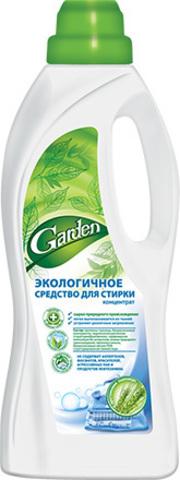 Экологичное средство для стирки концентрат с протеинами пшеницы, 1 000 мл Garden Гарден
