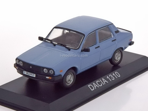 Dacia 1310 Saloon lightblue 1:43 DeAgostini Masini de legenda #40