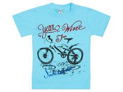 19065-44 футболка детская, голубая