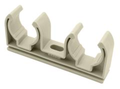 Крепление двойное FV Plast 2х25 мм. для полипропиленовых труб