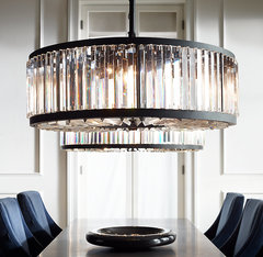 Welles Clear Crystal Round Chandelier 43
