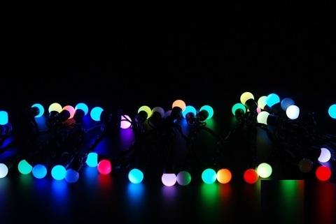 светодиодные LED шарики 10 метров 100 шаров