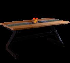 Стол с биокамином Firetable Slebs 2000MS