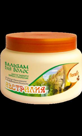 Floralis Восточные Страны Бальзам для волос Масло чайного дерева и Прополис Австралия  500г