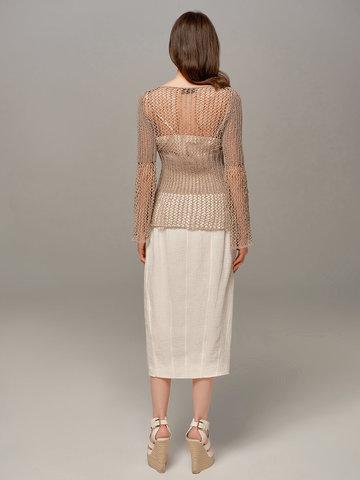 Женская юбка молочного цвета Olmar GentryPortofino - фото 5