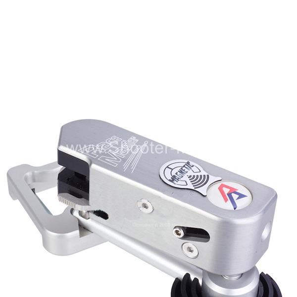 Кобура спортивная DAA Race Master Magnetic для Glock серебряная правша