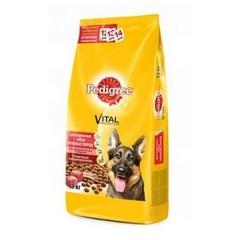 Pedigree для взрослых собак крупных пород Говядина 13 кг