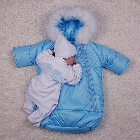 Комплект на выписку из роддома Маленький ангел для мальчика