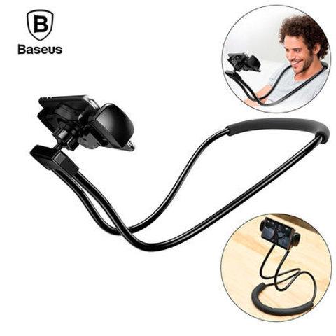 Универсальный держатель для смартфона Baseus Necklace Lazy Bracket black