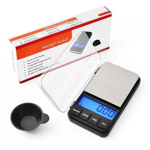 Весы ювелирные 6285PA, 500г. (0,01г) + чашка