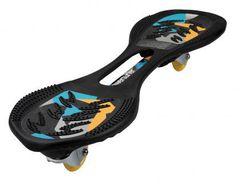 Двухколесный скейт, JDBug, Powersurfer RT169, черный/розовый, до 100 кг