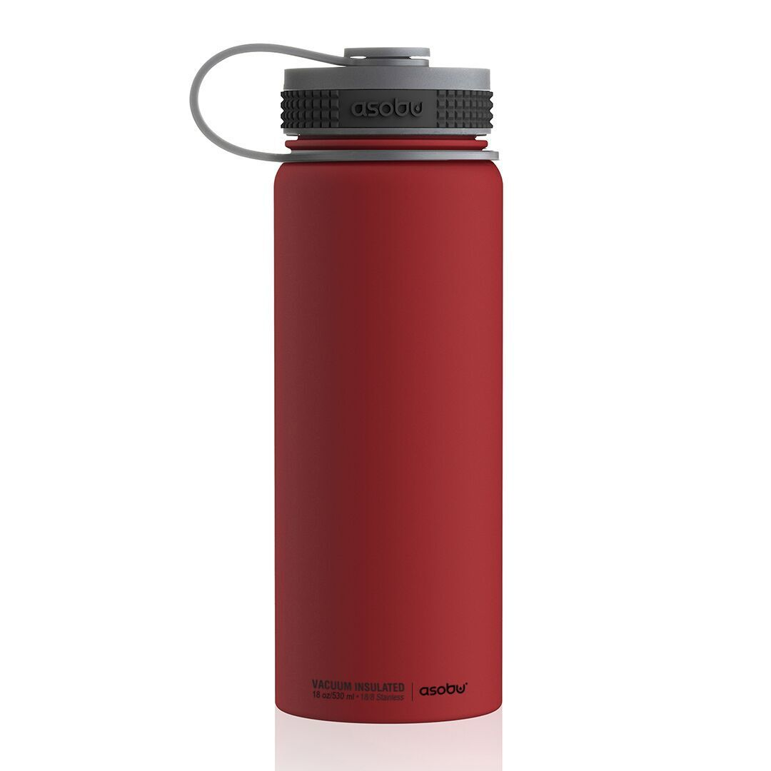 Термобутылка Asobu Alpine flask (0,530 литра) красная*
