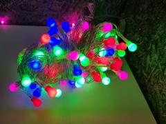 Светодиодная гирлянда  с матовыми лампами 100 Led