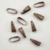 Бейл - петелька (цвет - античная медь) 10х3,5 мм, 10 штук