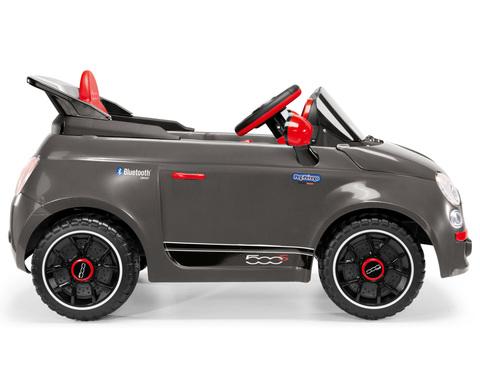 Электромобиль Peg Perego FIAT 500 S Grey ED1173 на радиоуправлении